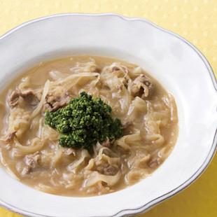 牛肉のオニオングラタンスープ