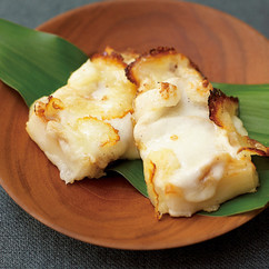 おもちのみそモッツァレラチーズ焼き