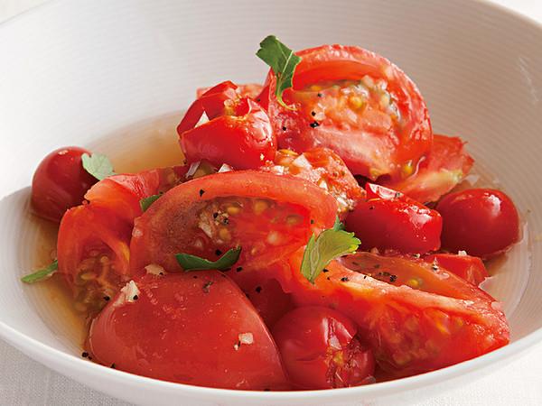 トマトのホットサラダ