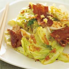 キャベツと豚カリカリの和風回鍋肉