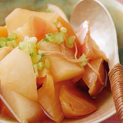 大根とりんごの煮物