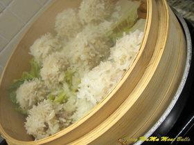 *中国家庭料理母ホクホク肉団子*