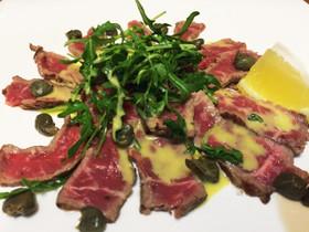 牛ヒレ肉のカルパッチョ