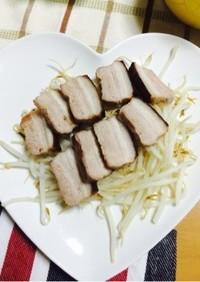 豚バラブロックの塩麹グリル