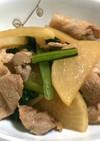 簡単☆大根と豚肉の照り炒め煮