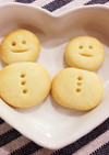 簡単かわいい!米粉の雪だるまクッキー