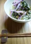 お茶漬け(日野菜の漬け物)