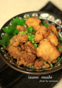 下処理しっかりレシピ:鮭の白子のから揚げ
