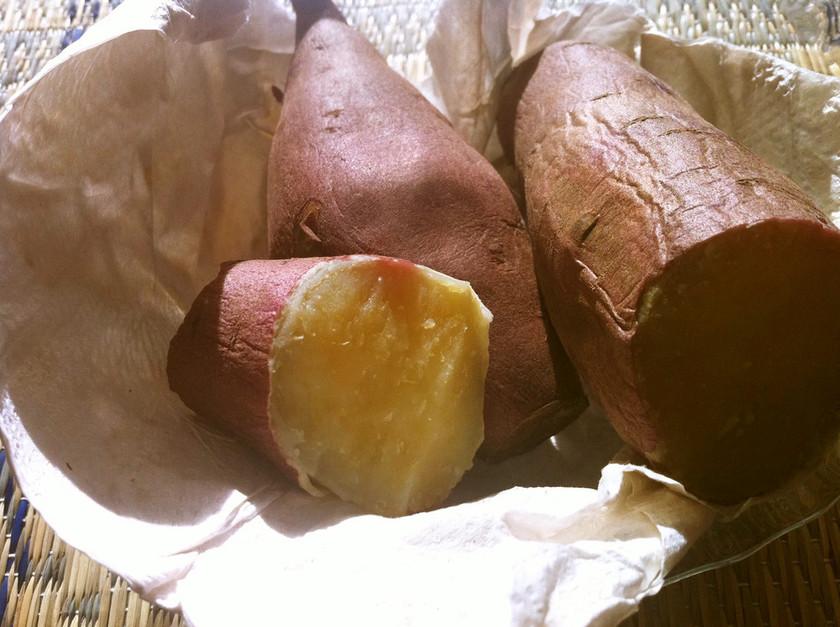 フライパンで作る ねっとり系の焼き芋