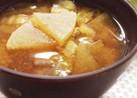 冬⭐大根と白菜と玉ねぎのお味噌汁♪