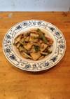 イカの中華風味噌炒め