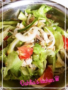 ♛ 野菜たっぷり!ボウルでサラダ♛