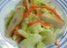 簡単♪白菜とさつま揚げのまろやか辛子和え