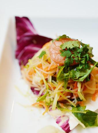 シーフードたっぷり!タイ風春雨サラダ
