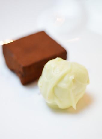 ボンボンショコラ~ホワイトチョコと抹茶