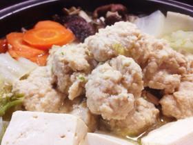 鍋に!スープに!ふわふわ鶏団子のタネ。