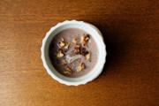 乾燥糸こんにゃくでココナッツミルクしるこの写真