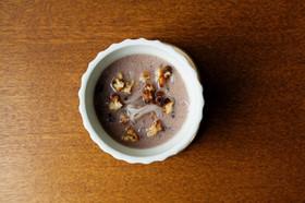 乾燥糸こんにゃくでココナッツミルクしるこ