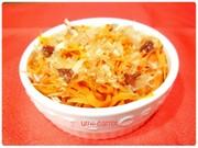 冷凍お弁当お野菜おかず:にんじんの梅鰹の写真