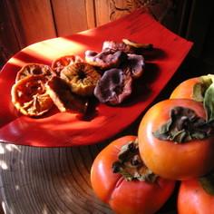 即席セミドライ・焼き柿