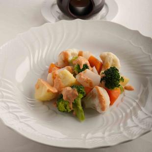 ゆで野菜のサラダ
