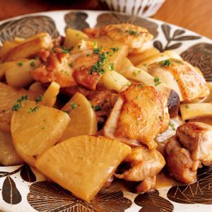 大根と鶏もものガッと煮