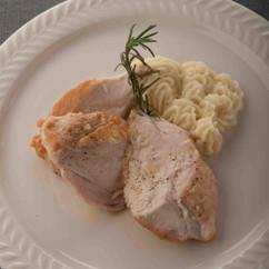 鶏胸肉のフライパン焼き