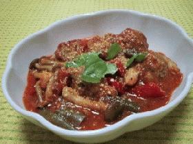 ∽∽豆腐入りミートボールのトマト煮∽∽