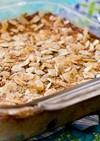 桃のプディングケーキ (グルテンフリー)