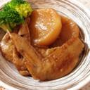 お酢で柔らか♡鶏手羽先と大根のさっぱり煮