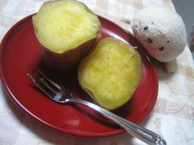 サツマイモ☆ポン♪(炊飯器)