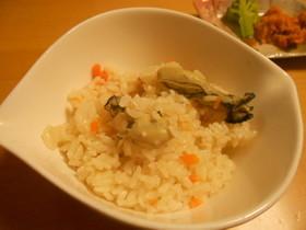 【簡単】牡蠣の炊き込みご飯