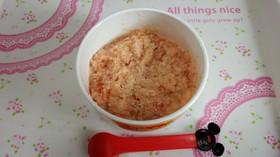 離乳食中期 ツナトマトチーズパン粥