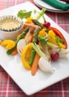 グリル野菜のバーニャカウダー