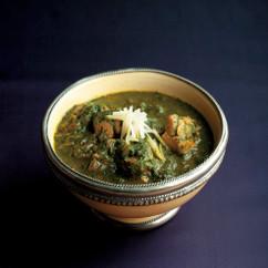 サグチキン(ほうれん草と鶏肉のカレー)