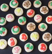 クリスマスに贈るまんまるクッキーの写真