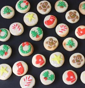 クリスマスに贈るまんまるクッキー