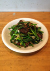 鶏レバーと中国野菜炒め