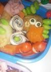子供 お弁当おかず簡単 ハムのりチーズ
