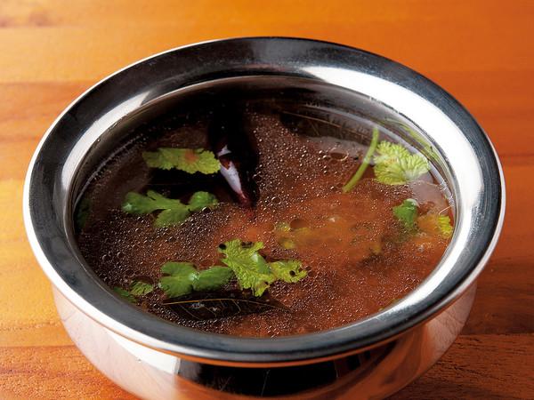ラッサム(黒こしょうの酸味カレー)