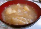 わが家のお味噌汁*大根と油揚げ*