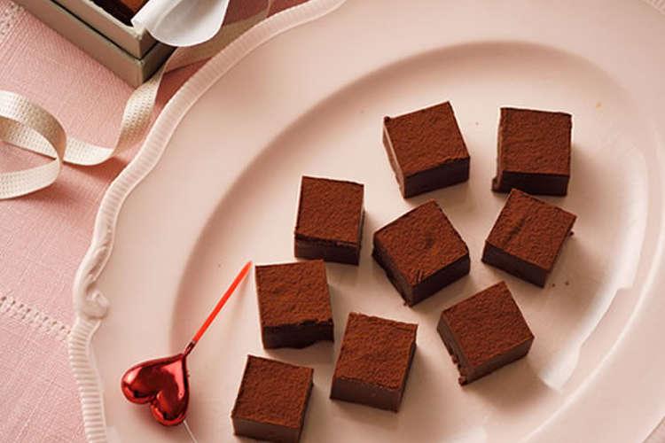 チョコ 作り方 生