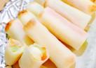 春巻きの皮で焼きチーズ