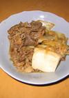 手軽にすき焼き★肉豆腐♪