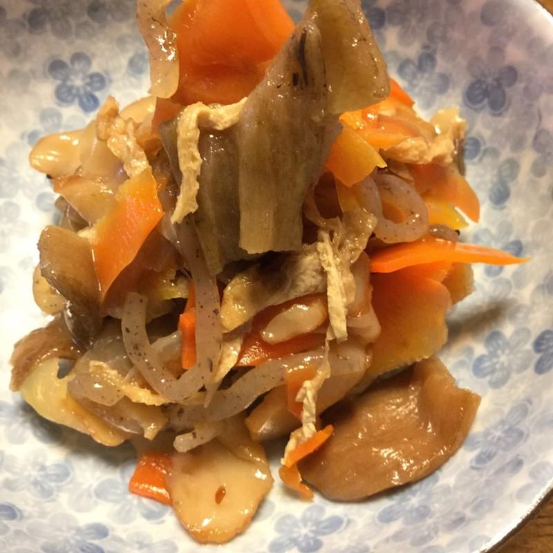 がら レシピ 芋 ずいき(いもがら)の煮物~乾物・常備菜 by
