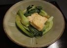 青梗菜と豆腐の中華炒め