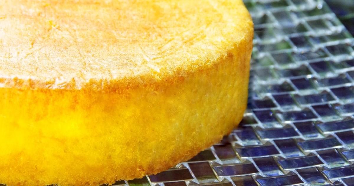 フルーツなしで生地勝負!パティシエが教える「スポンジケーキ」のレシピ