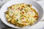 カレー粉でインドオムレツ チーズのせの写真