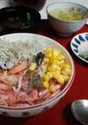 血管プラークダイエット食76(シラス丼)