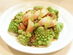 ロマネスコとかぶのホットサラダ